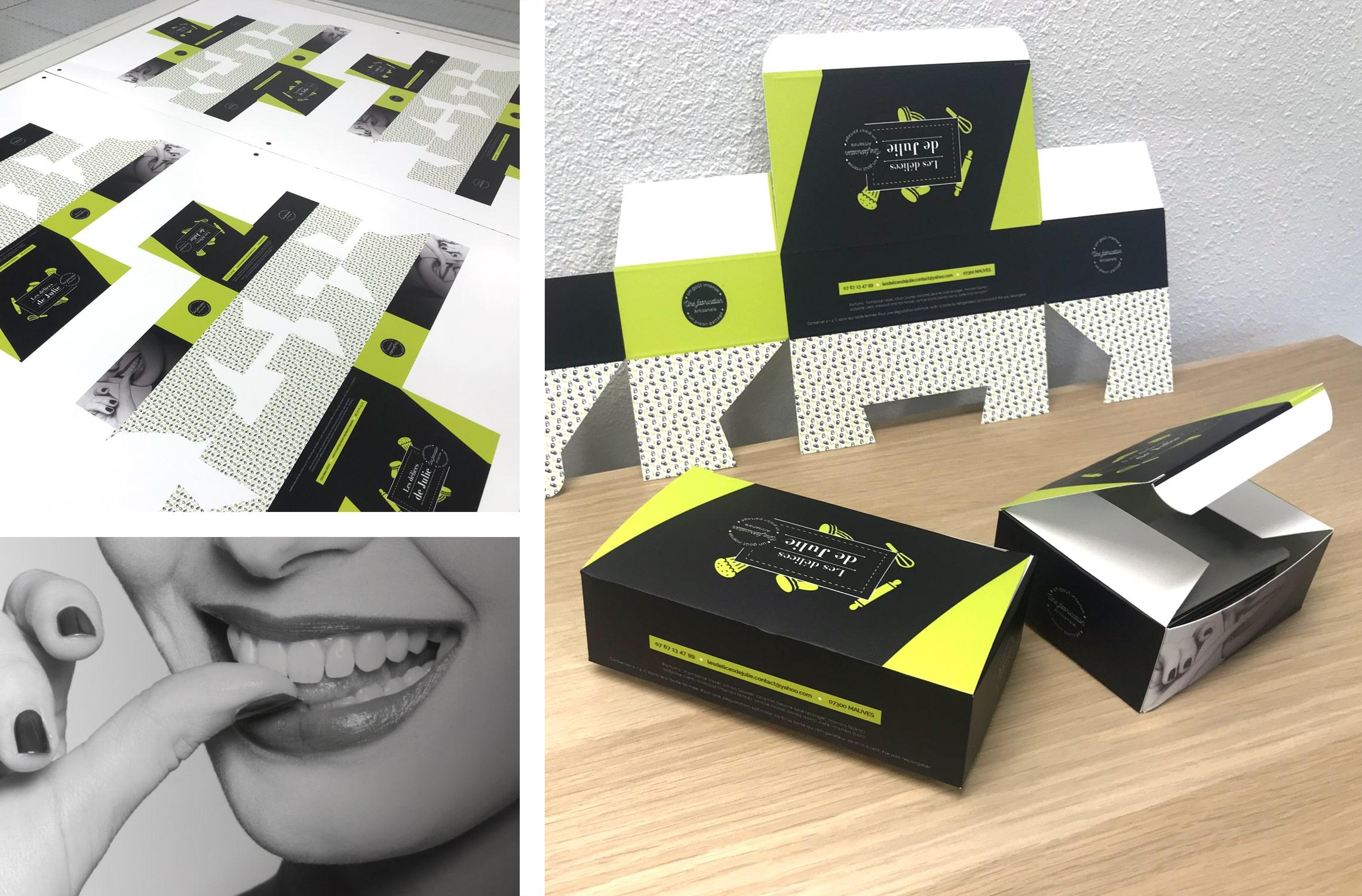 Visuel packaging